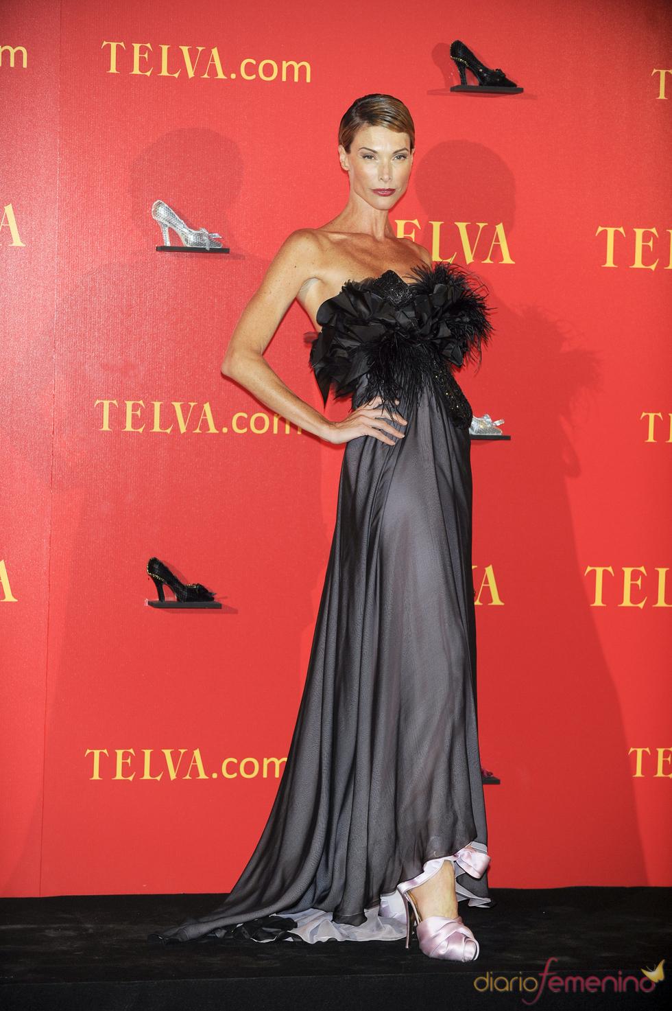 Cristina Piaget en los Premios Telva 2010