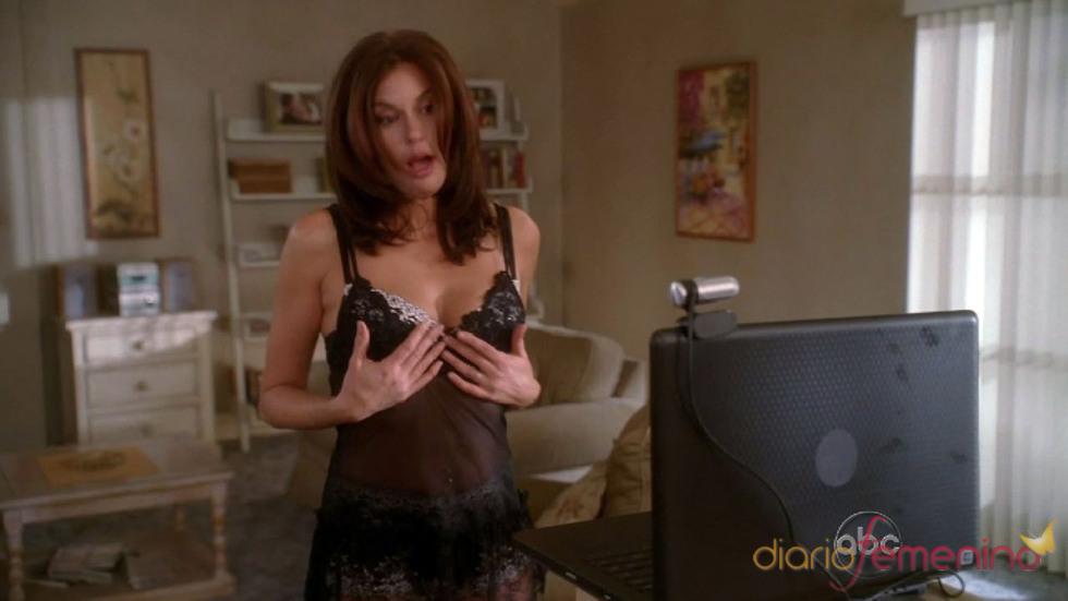Teri Hatcher sexy en 'Mujeres desesperadas'