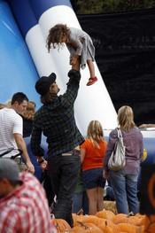 Gabriel Aubry y su hija fruto del matrimonio con Halle Berry