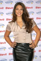 Look de Lorena Bernal durante la presentación