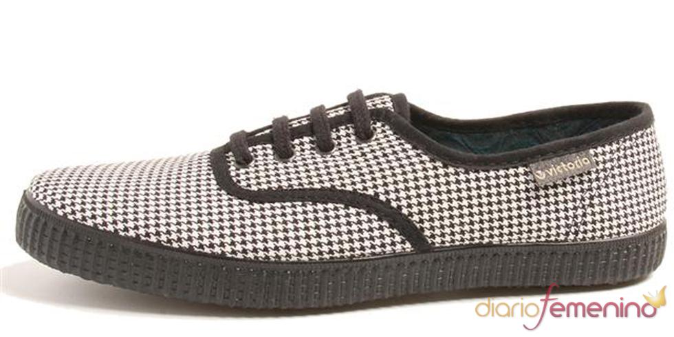 Zapatillas de cuadros de Victoria