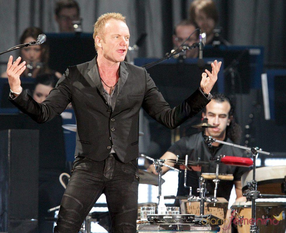 Concierto de Sting en Bilbao