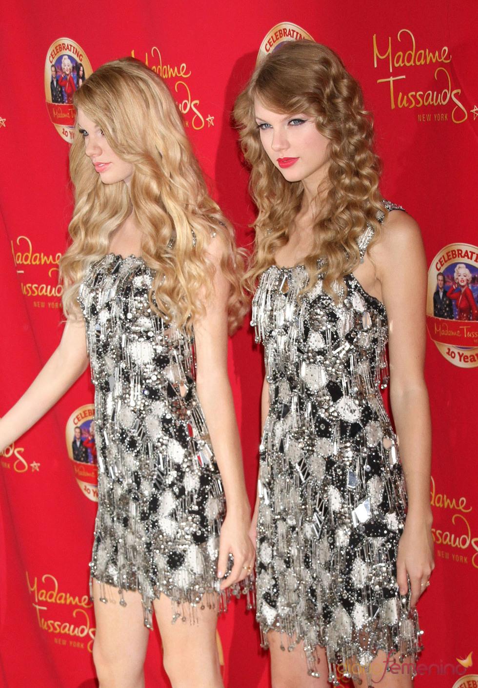 Taylor Swift y su figura de cera