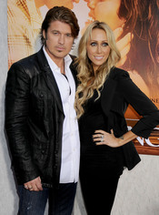 Billy Ray y Tish Cyrus