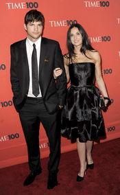 Ashton Kucher y Demi Moore