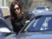 La presidenta Cristina Fernández, viuda de Néstor Kirchner