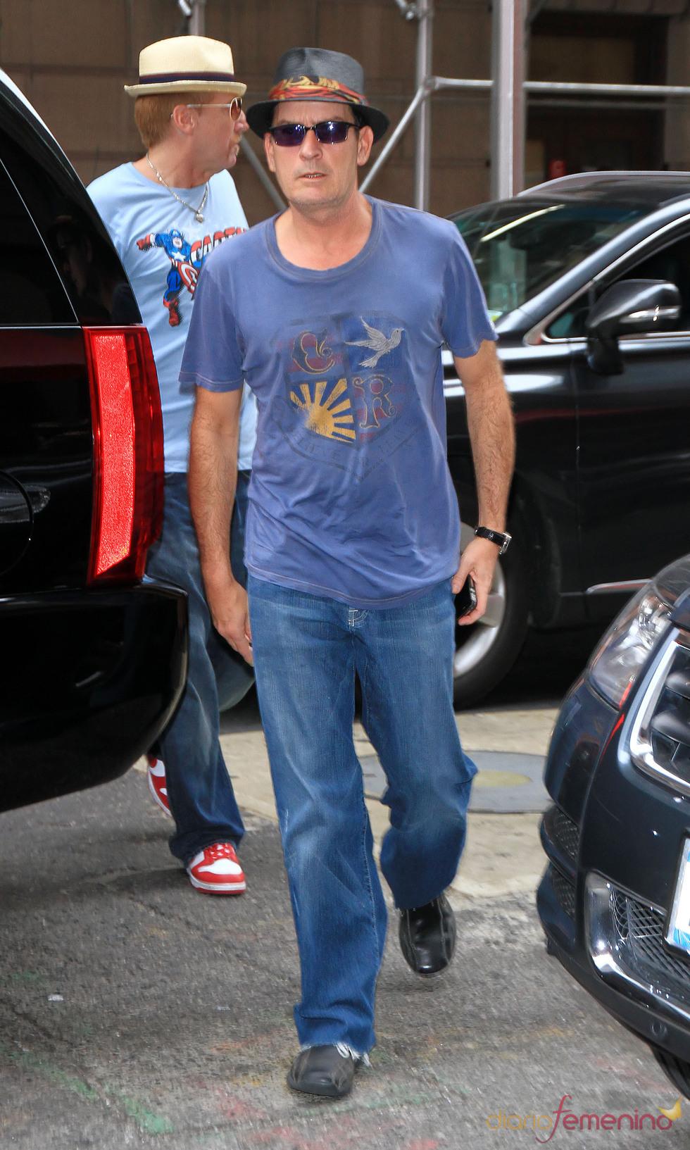 Charlie Sheen en Nueva York