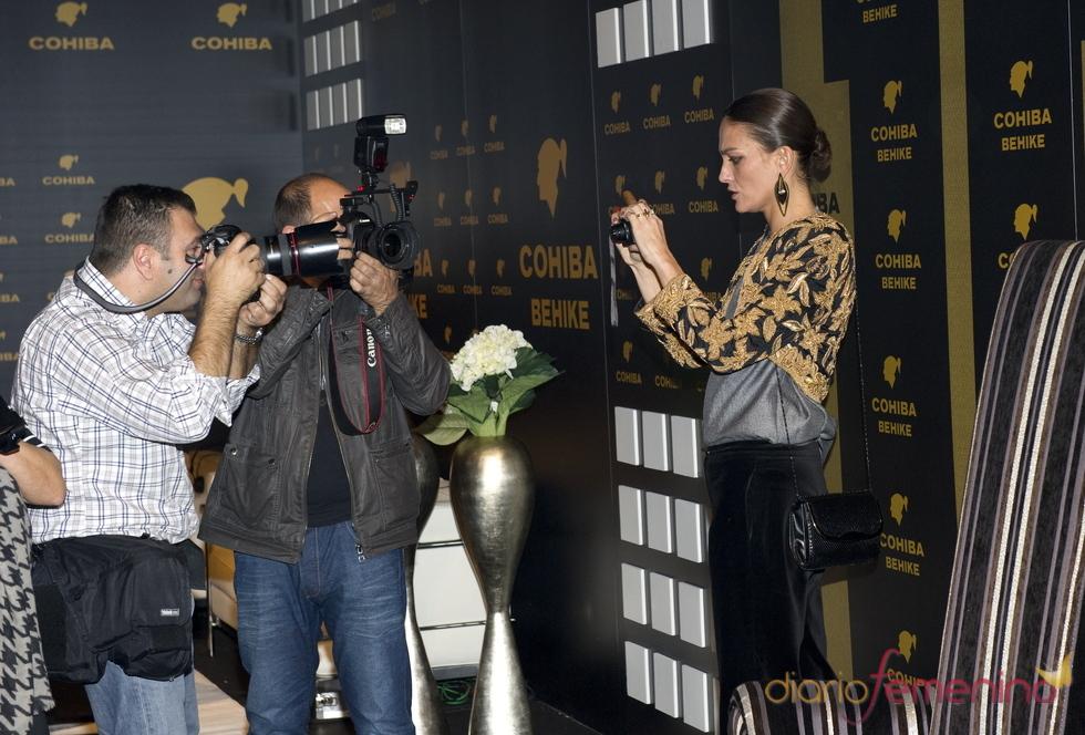 Laura Ponte fotografía a la prensa