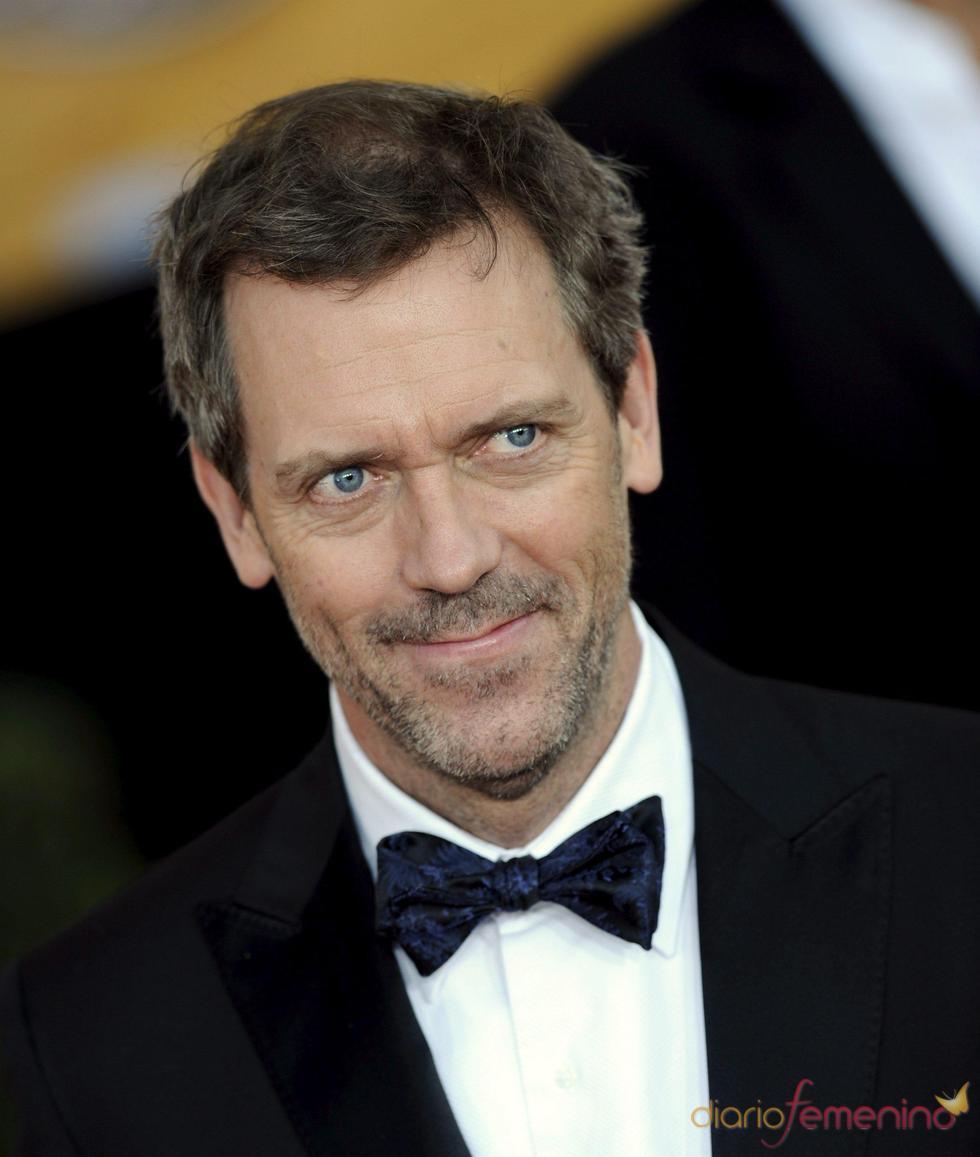 Hugh Laurie, de etiqueta