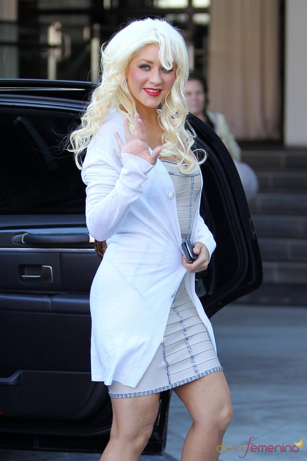 Christina Aguilera y su imagen actual