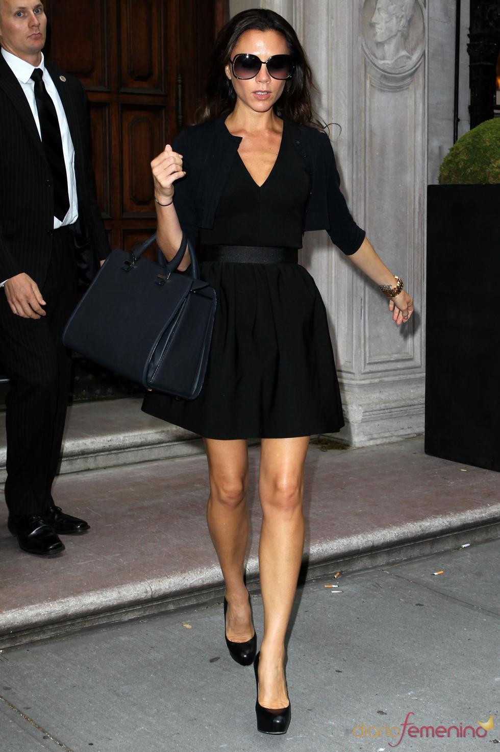 Victoria Beckham se ha vuelto a poner extensiones