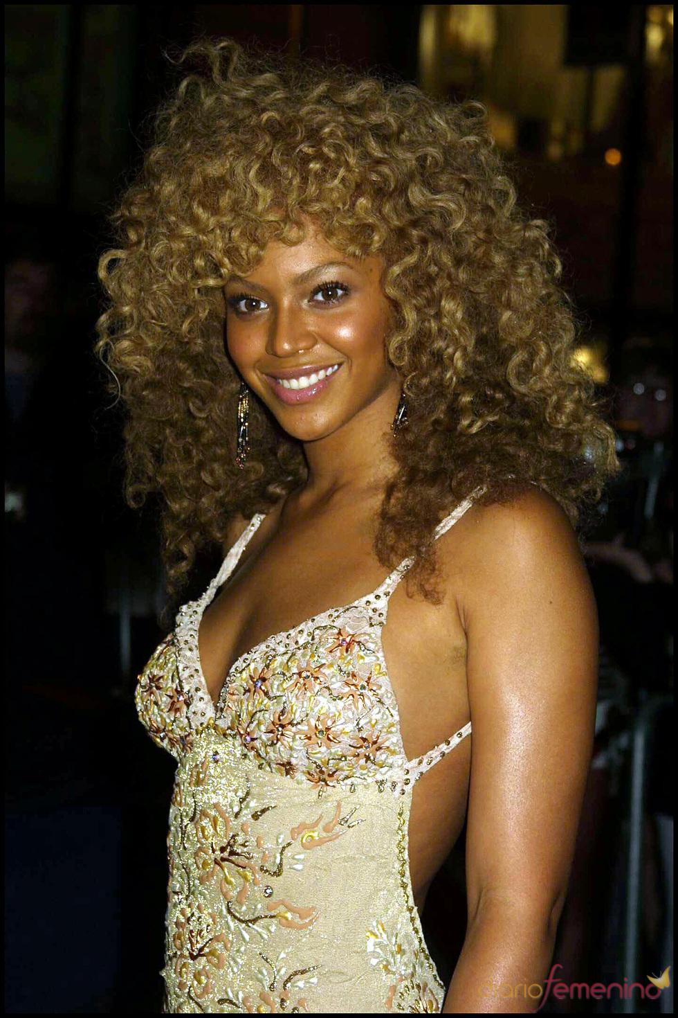 Beyonce con el pelo 'afro'