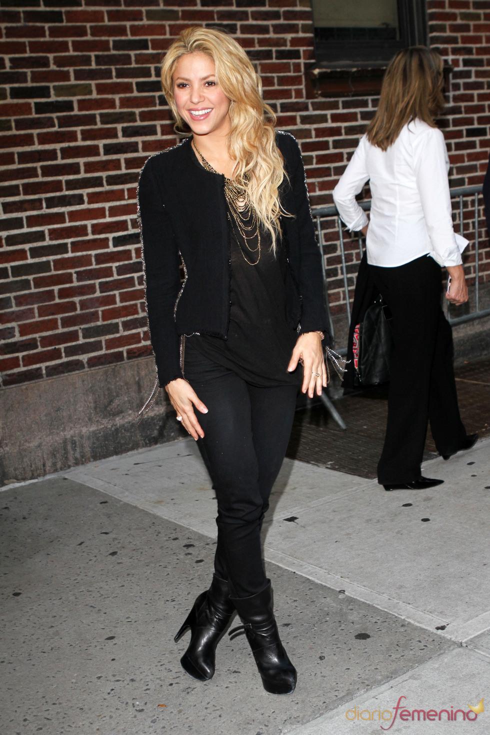 Imagen actual de Shakira