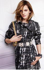 Emma Watson para Burberry