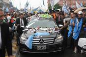 Cortejo fúnebre del ex presidente Néstor Kirchner