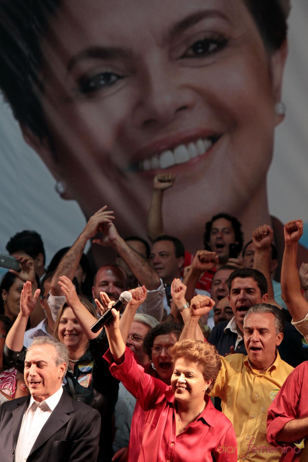 La presidenta brasileña Dilma Rousseff