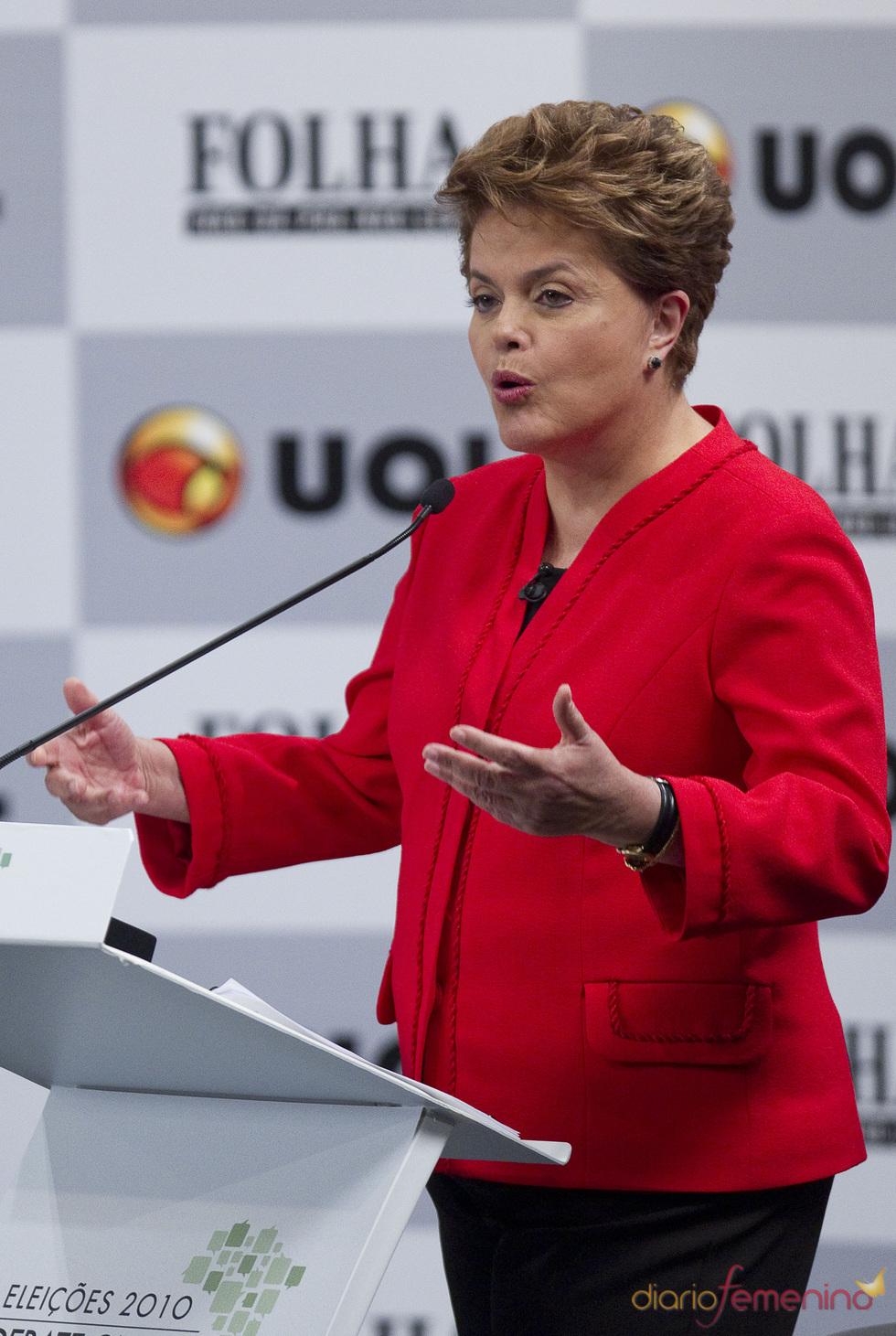 La nueva presidenta de Brasil Dilma Rousseff