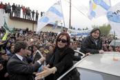 Cristina Fernández Viuda de Kirchner en Río Gallegos