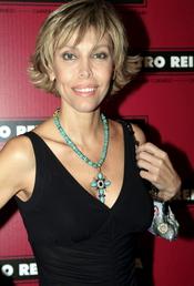 Carla Duval posa para la prensa el pasado mes de julio