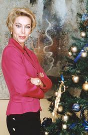Carla Duval en Navidades de 2001