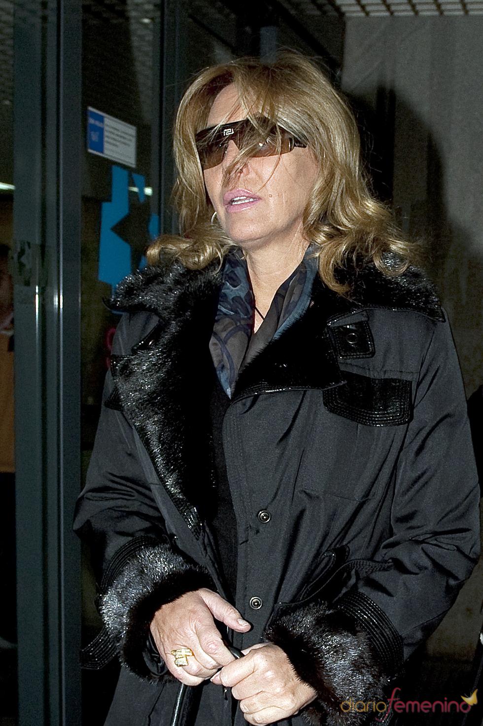 Norma Duval, desolada por la muerte de su hermana Carla