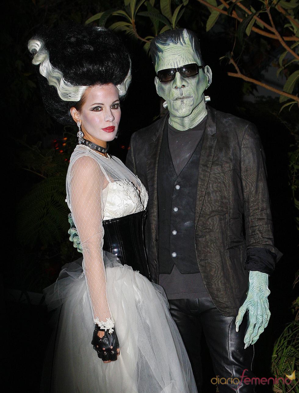 Kate Beckinsale y Lens Wiseman en Halloween