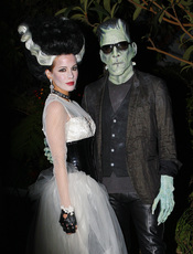 Kate Beckinsale y Lens Wiseman en Halloween