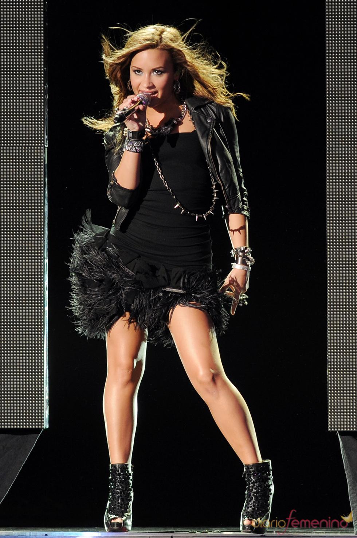 Demi Lovato sobre el escenario