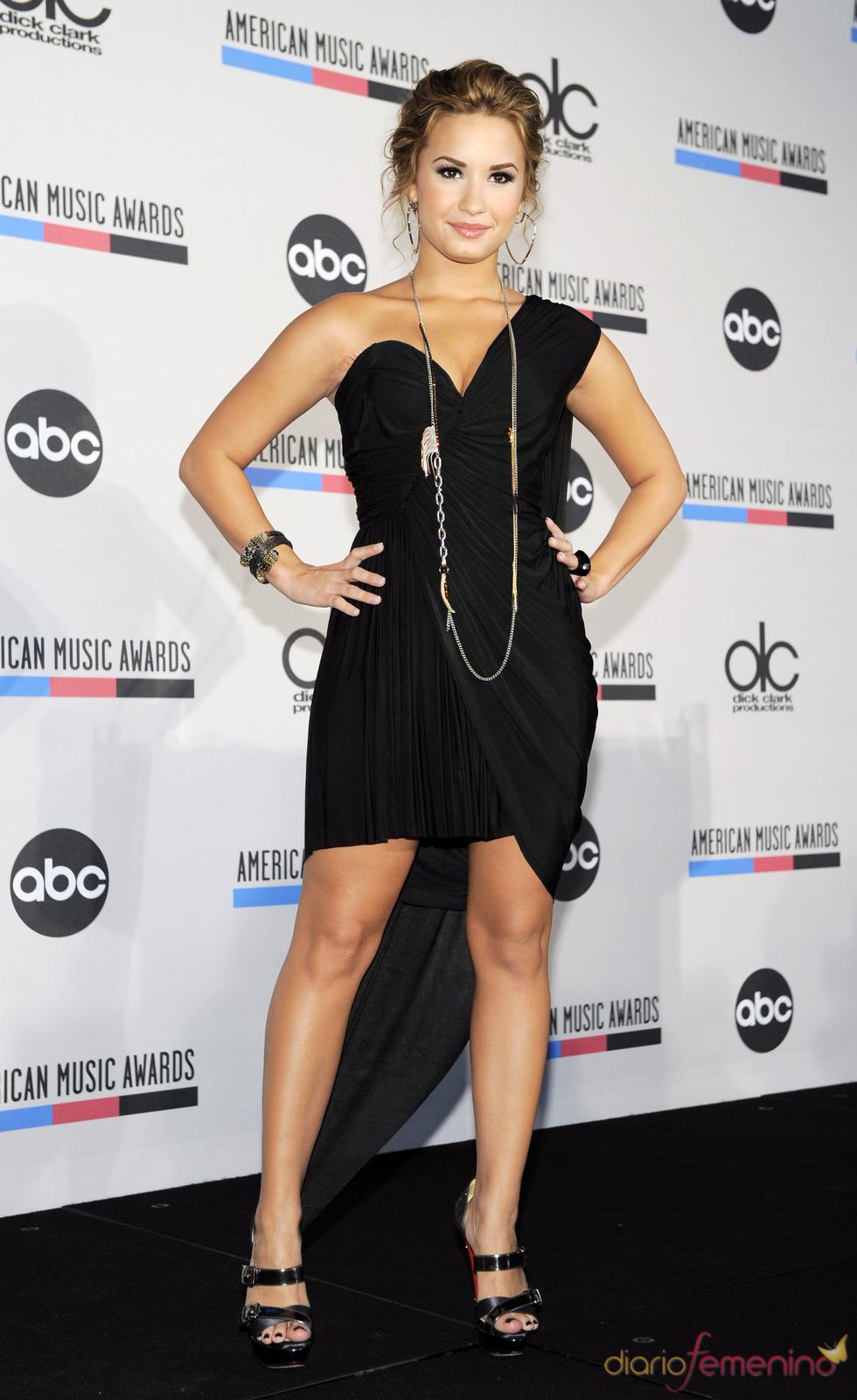 Demi Lovato en los american music awards