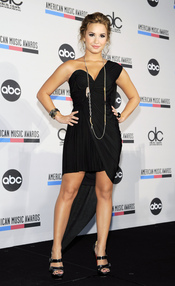 Demi Lovato en los american music awards