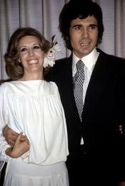 Paco Marsó y Concha Velasco en los 80