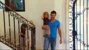 Ricky Martin con sus dos pequeños