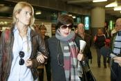 Concha Velasco regresa de Málaga