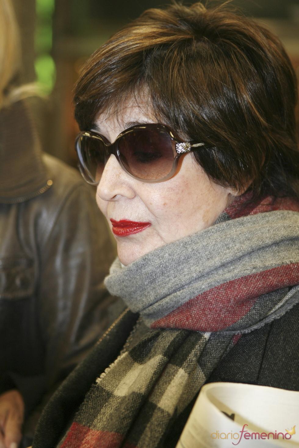 Concha Velasco, triste por el estado de su ex marido