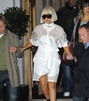 Lady Gaga, llena de heridas