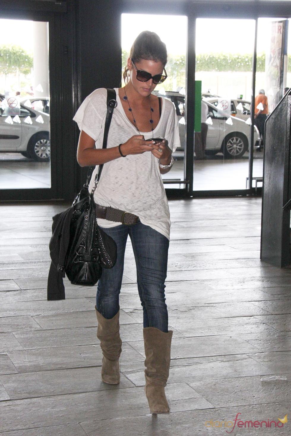 Amaia Salamanca con look casual