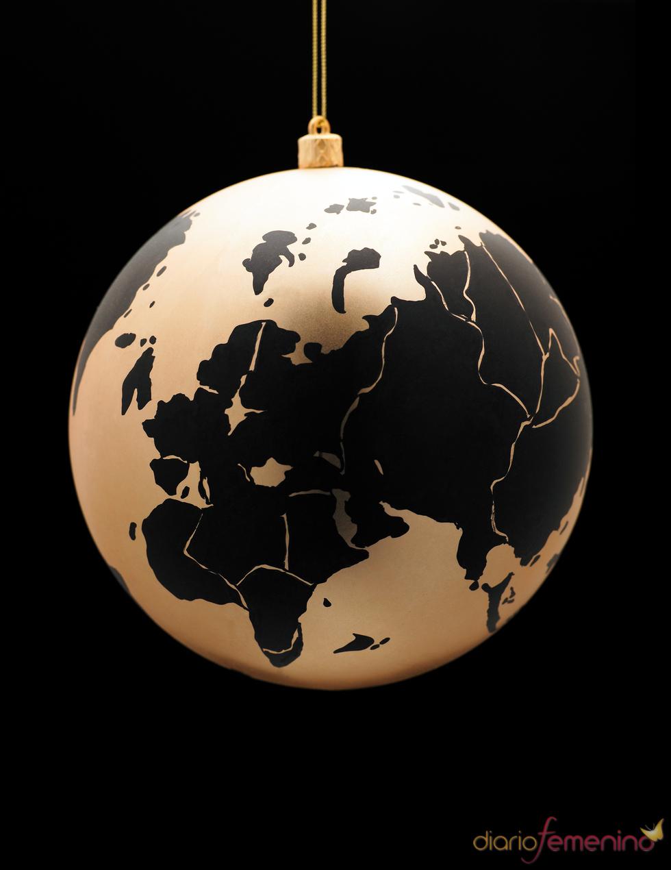 Bola decorativa navideña
