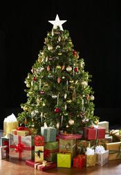 Tradicional árbol de navidad