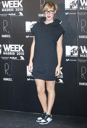 Cecilia Freire en la fiesta de la MTV 2010