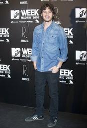 Javier Pereira en la fiesta de la MTV 2010