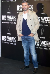 Jorge Lucas en la fiesta de la MTV 2010