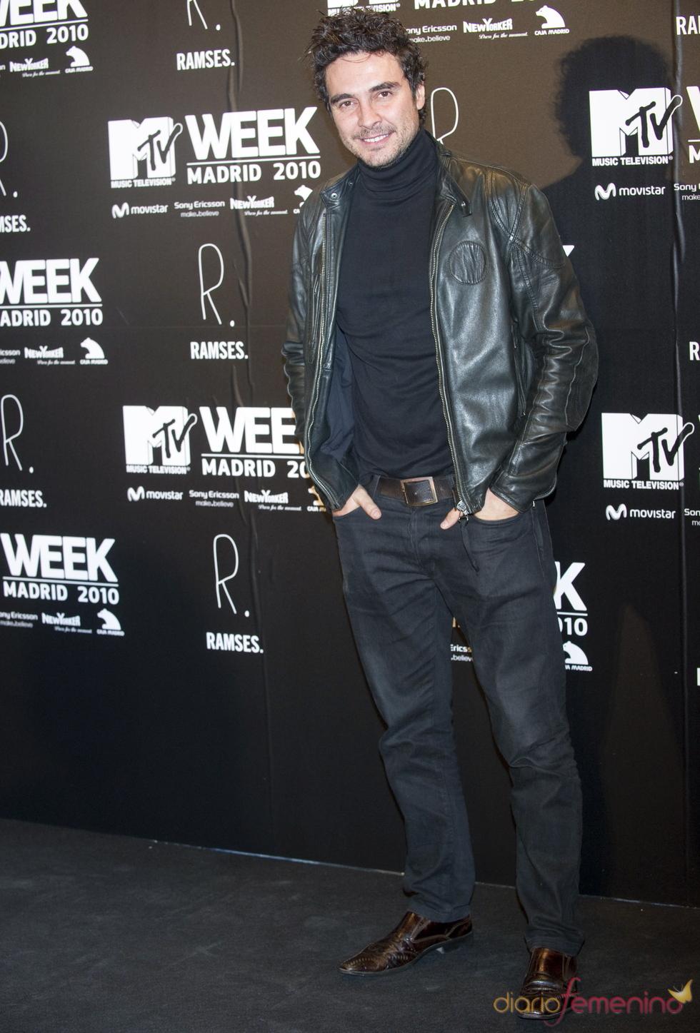 José Manuel Seda en la fiesta de la MTV 2010