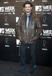 Roberto Sanmartín en la fiesta de la MTV 2010