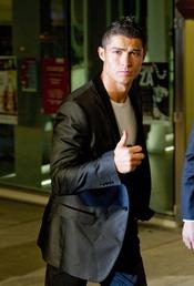 Premio Alma 2010 con Cristiano Ronaldo