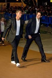 Cristiano Ronaldo y Kaká en el Premio Alma 2010