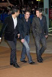 Ezequiel Garay, Gonzalo Higuain y Ángel Di Maria