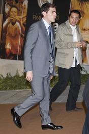 Iker Casillas en el Premio Alma 2010