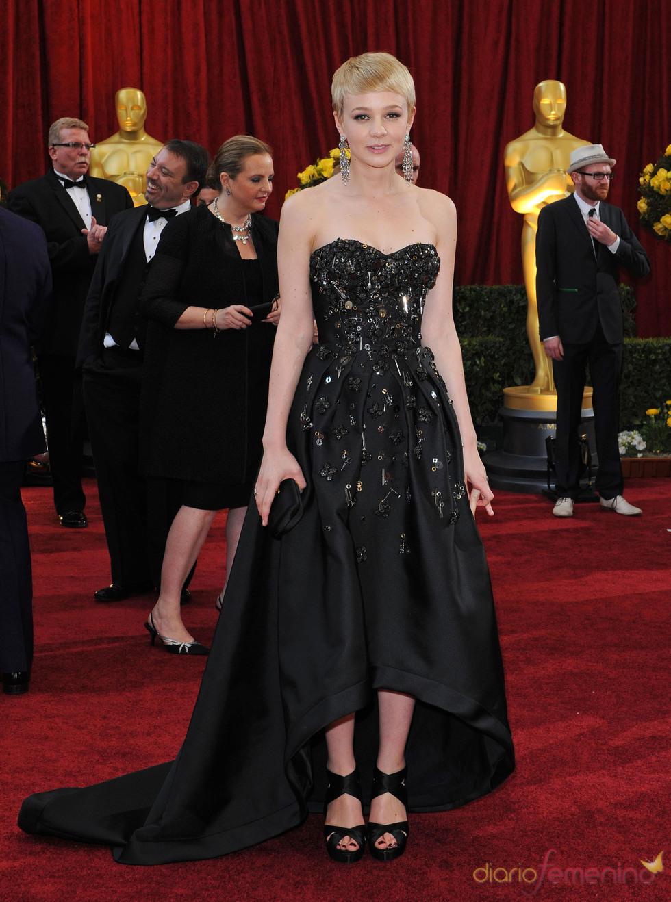 Carey Mulligan en la ceremonia de los Oscar 2010
