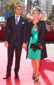 Cristina Tárrega y Mami Quevedo en la boda de José María Manzanares hijo y Rocío Escalona