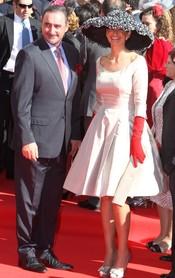 Mariló Montero y Carlos Herrera en la boda de José María Manzanares hijo y Rocío Escalona